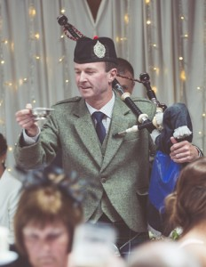 wedding piper Glasgow